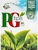 organic british tea - PG Tips Premium Black Tea, Pyramid Bags, 80 ct