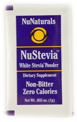 Nunaturals NuStevia? White Stevia? Powder -- 1000 Packets...