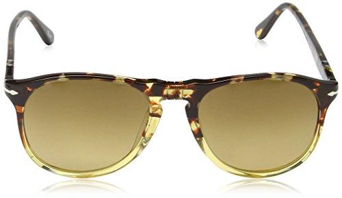 Persol - Lunette de soleil Polarisé Mod.9649S Ebano E Gold 1024M2