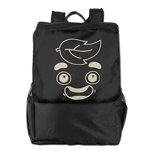 Amurder Outdoor Funny Guava Juice Travel Backpack Shoulder Rucksack Bag Unisex Black