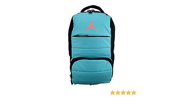 82b1e99c29e Amazon.com: NIKE Air Jordan All World Gym Jumpman Backpack School Bag Light  Retro / Hot Lava: Sports & Outdoors
