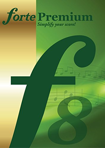 Notation Composition Software - FORTE 8 Premium - Music Notation Software