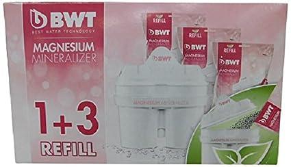 BWT WF Vitalis 8366 - Cartuchos para filtrado de agua (4 unidades)