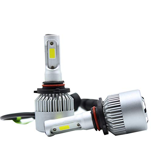 LED Headlight Kit,TBVECHI,LED Headlight Kit Fit 12V,24V Vehicles,9005/HB3/H10 Single Beam