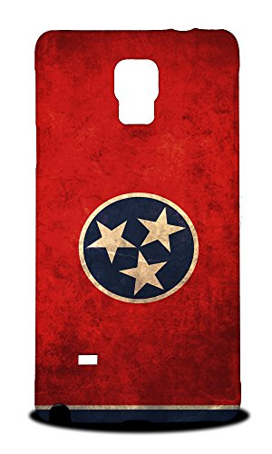 Foxercases Design Tennessee Us American State Flag Hard Back Case Cover for Samsung Galaxy Note 4