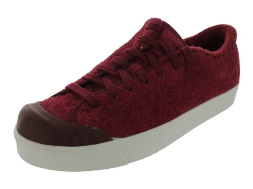 Nike Men's NIKE ALL COURT TWIST CASUAL SHOES 9.5 (TEAM RED/TEAM RED OXEN BROWN)