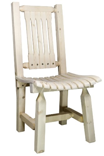 Montana Woodworks Homestead Collection Outdoor Patio Chai...