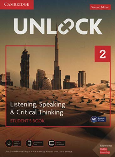 Unlock Level 2 Listening, Speaking & Critical Thinking Student