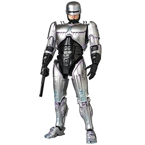 Medicom OCT178560 Robocop Maf Ex Action Figure, Gray, Standard