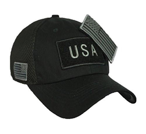 90210 Wholesale USA American US Flag Baseball Cap Patch Trucker Tactical Army CAMO Hat Hunting (Camo Hats Wholesale)