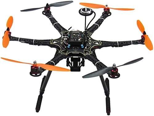 Hobbypower DIY S550 Hexacopter PX4 Pixhawk Flight Controller NEO-7M GPS PPM 30A ESC 2212