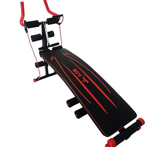 Cetengkeji 多機能美容機、仰向けボード、家庭用フィットネス機器、男性の腹の減少、女性の腰、ツーインワン、怠惰なジェットコースター   B07QS617JM