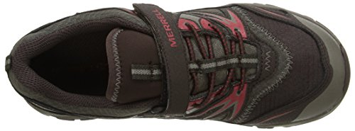 Merrell Capra Bolt C Waterproof, Zapatos de Low Rise Senderismo para Niños Multicolor (Brown)