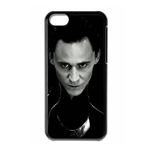 WJHSSB Print Thor Loki Pattern PC Hard Case for iPhone 5C