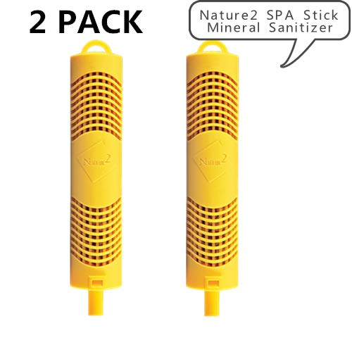 - Clear Water Nature2 SPA Stick Mineral Sanitizer, Clean, Without Harsh Chemicals, Works with All Spa Flow Rates(2 Pack)