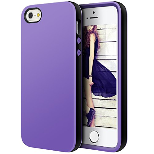 iPhone Shock Absorption Anti Scratch Fingerprint PurpleBlack product image