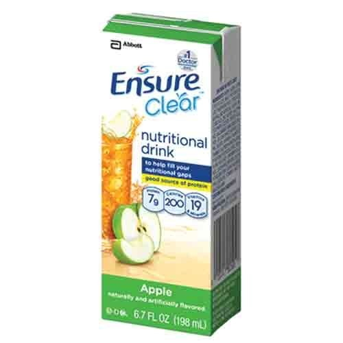 Ensure Clear Apple 6 7oz Cartons product image