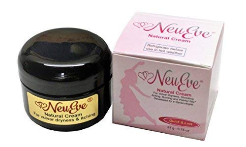 NeuEve® Vulva Balm Cream - Hormones Free - Safely Relieves Vaginal Dryness, Painful Sex, Itching & Odor - 100% Natural Moisturizer, Lube & Deodorant (Refrigerate Before Use in Hot Weather)