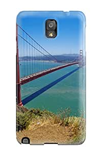 Series Skin Case Cover For Galaxy Note 3(golden Gate Bridge)