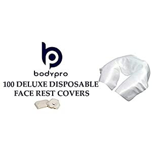 Massage Table DISPOSABLE FACE REST COVERS [Quantity 100]