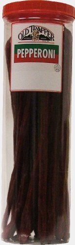 Old Trapper Pepperoni Snack Sticks 17 Oz. Plastic Container by Old Trapper -