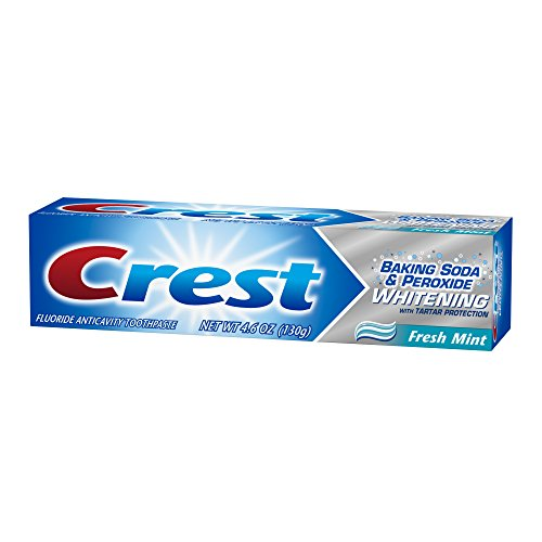 crest baking soda and peroxide whitening with tartar protection fresh mint toothpaste 4 6 ounce. Black Bedroom Furniture Sets. Home Design Ideas