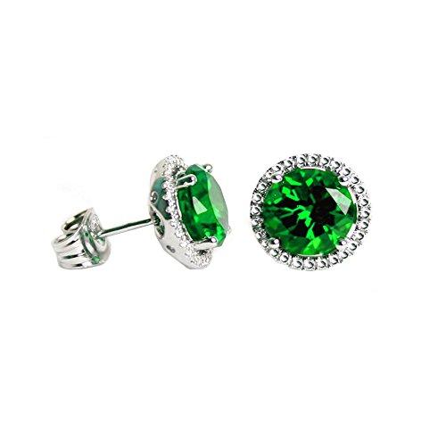 Swarovski Ring Peridot Crystal (Swarovski Crystals Birthstone Stud Earrings (Peridot))