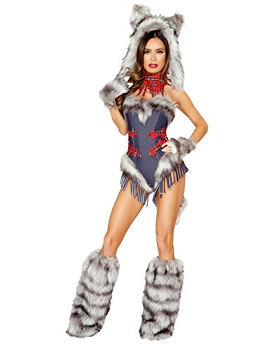 Big Bad Wolf Adult Costume - Small