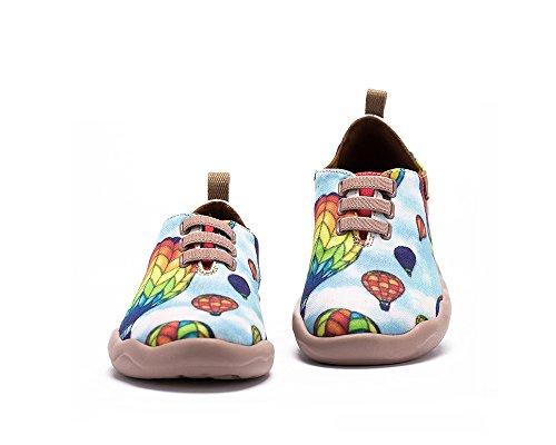 UIN Ballons colorés Chaussures de toiles casual bleu pour enfant (petit enfant)