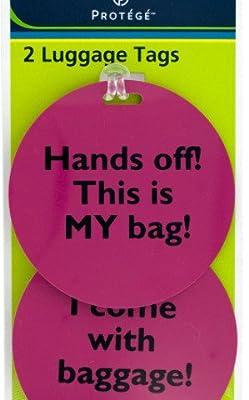 Kole Imports Assorted Phrase Luggage Tags