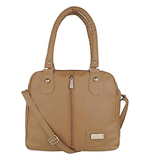 Kausbabi Women's Shoulder Bag  Beige
