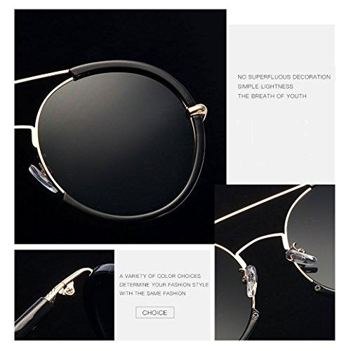 Gafas a Elegantes Ai Ms Anti polarizada Moda lele vértigo luz Personalidad Hombres Rayos de Espejo Sol Sombra con Driver de Resistente UV los fpqgp