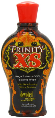 Devoted Creations Trinity XS Mega Extreme XXX Sizzling Tingle Tanning Lotion 12.25 oz.