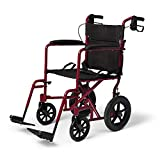 Best Wheelchairs - Medline Lightweight Transport Wheelchair with Handbrakes, Folding Transport Review