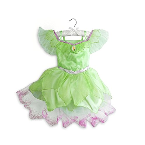 Disney Store Tinkerbell Fairy Costume Dress Girls Size 4 (4) (Tinker Bell Shoes)