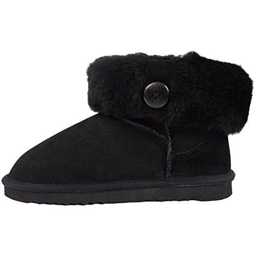 Black Women's Bushga Bushga Black Women's Boots 4q8Un4xa