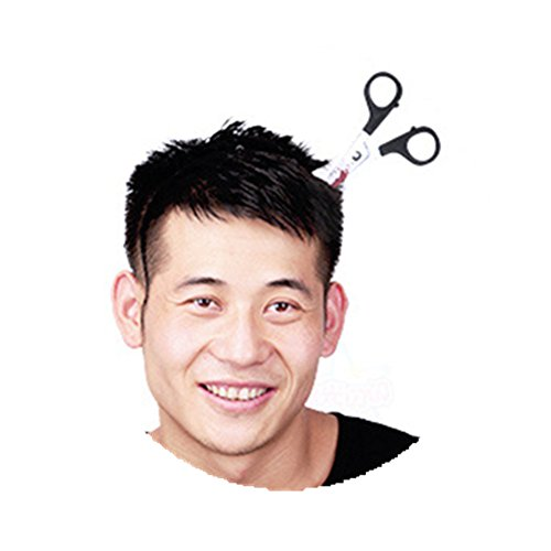 Kalanman Halloween Props Plastic Bloody Headband Fake Weapon Through The Head Funny Accessory for Child Adult -