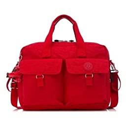 Kipling New Baby Bag with Changing Mat Cherry