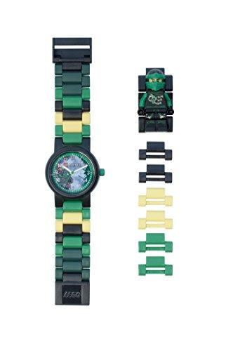 LEGO Kids' 8020554 Ninjago Sky Pirates Lloyd Minifigure Link Watch