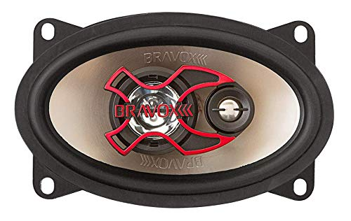 Triaxial Alto Falante, Bravox, B3X46 X, Car Audio Or Theater