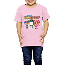 Kids Toddler Team Umizoomi Milli Little Boy's Girl's T Shirts Pink Size 5-6 Toddler