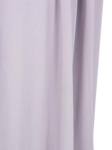 Ruched RICHARDS Light CR Waist Plunged Font Tie CHARLES Halter Dress Purple Women's Purple Maxi 1BpwHxaqa