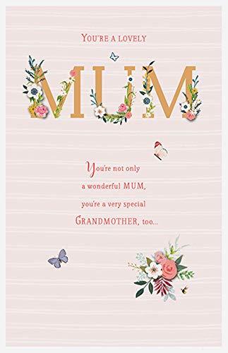 Tarjeta de cumpleaños para madre y abuela: Amazon.es ...