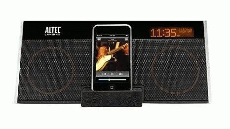 amazon com altec lansing m402 altec lansing ipod home audio with rh amazon com