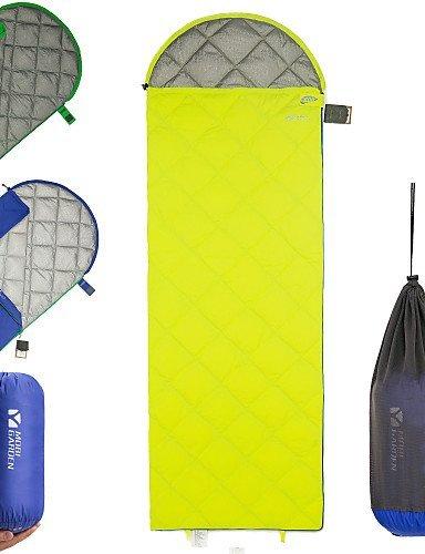 Schlafsack ( Grün/Hellgelb/Königsblau ) -Atmungsaktivität/UV-resistent/Winddicht/Gut belüftet/warm