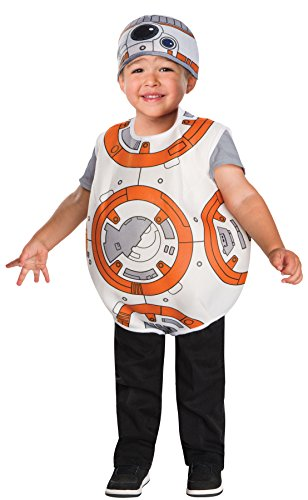 UHC Boy's Star Wars BB-8 Droid Theme Outfit Fancy Dress Toddler Costume, Toddler 2T