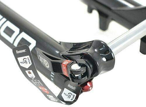 VK1738 SR SUNTOUR AION35 EVO RLR-PCS Fork 29Inches Boost 1.5InchesTapered Remote QR 15 Glossy BK