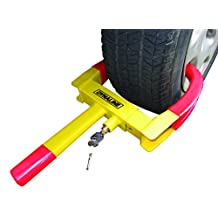 Dynaline Anti-Theft Lock Wheel Lock Clamp Boot Tire Claw Auto Heavy Duty Tire Lock Tire Claw Secure Your Trailer Our Lock