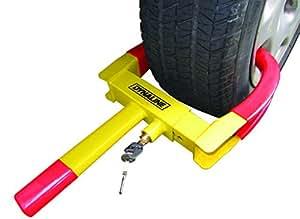 Dynaline Anti Theft Lock Wheel Lock Clamp Boot Tire Claw
