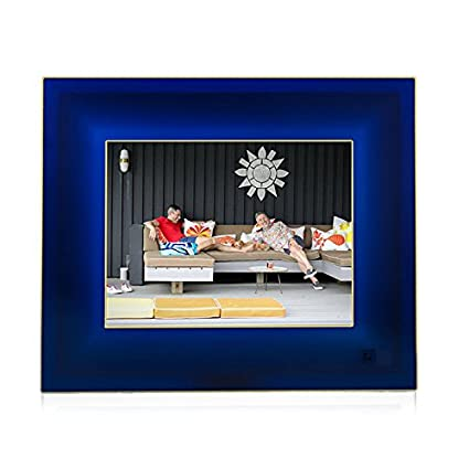 Amazon.com : Aura Smart Photo Frame - Jonathan Adler Limited Edition ...